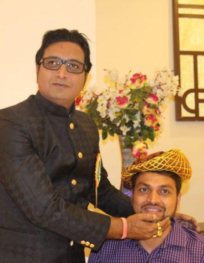 Honoured By HH Ashwarya Pratap Singh Chauhan, Prince oc Chhota Udaipur, Gujarat