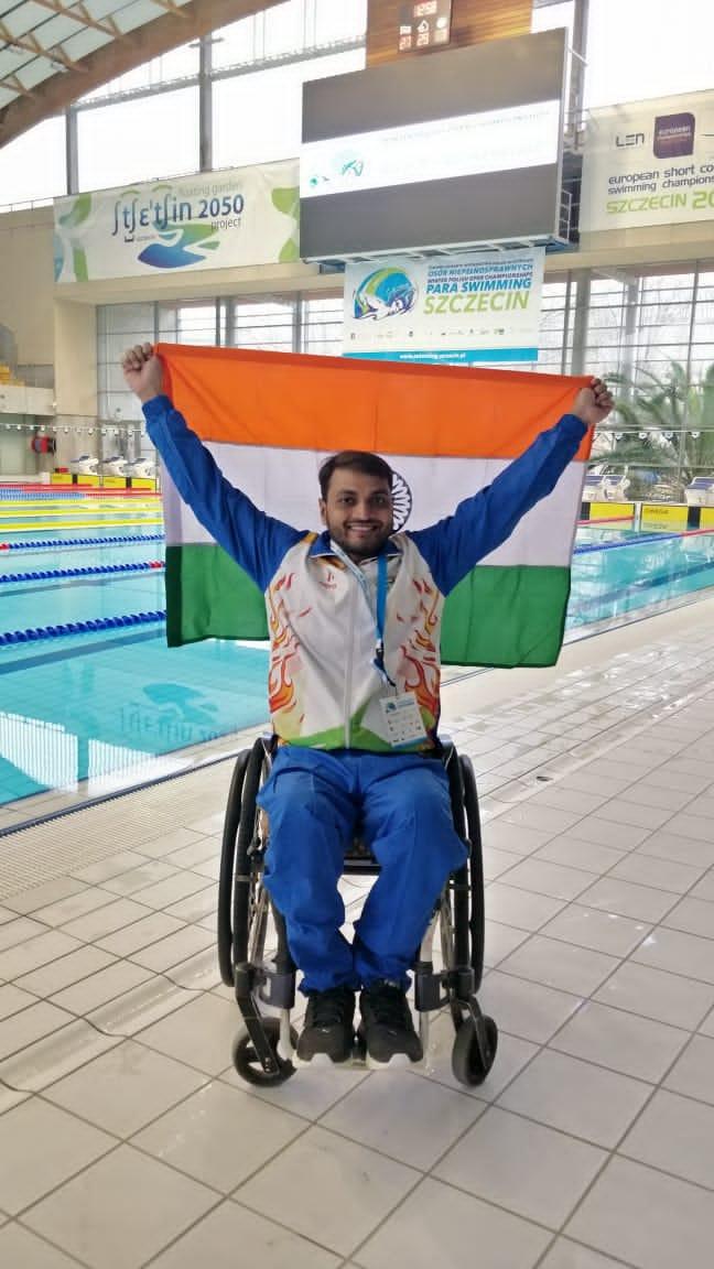 Shams Aalam - Paraplegic Swimmer