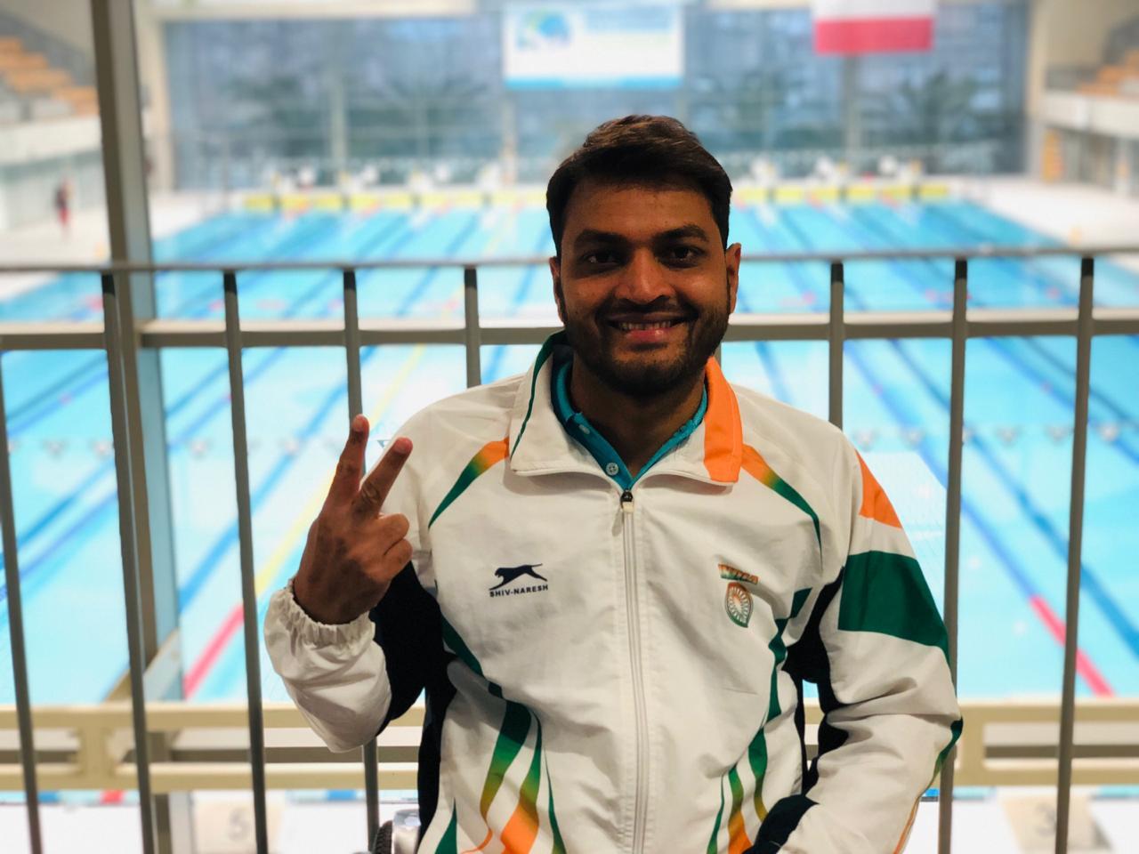 Shams Aalam - Indian Paraplegic Swimmer